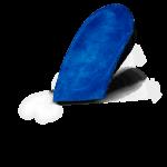 MySole inlegzolen Special Heelcup Velours